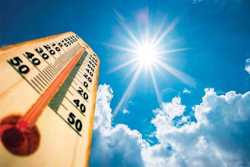 شهرهای رکورددار گرما در مرداد ۹۸