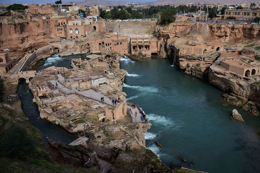 ثبت جهانی ۴ سازه تاریخی آبی ایران در کمیسیون بینالمللی آبیاری و زهکشی