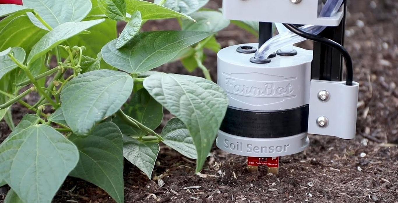 کشاورزی خودکار با ربات