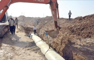 خط دوم طرح انتقال آب غدیر به آبادان نیمه تیرماه افتتاح میشود