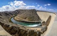افزایش رهاسازی آب سد زایندهرود از شب گذشته