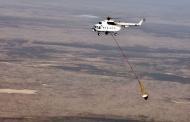 خاموشی آتش هورالعظیم با بالگرد و هواپیمای آتش نشان هم ناکام ماند