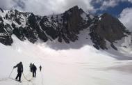 پایش وضعیت یخچالهای طبیعی کشور (يخچالهای منطقه علمکوه)