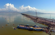 گستره دریاچه ارومیه ۸۲۹ کیلومتر افزایش یافت