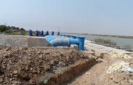 آغاز انتقال آب رودخانه کارون به تالاب شادگان