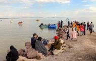 ساماندهی ساحل دریاچه ارومیه برای حضور گردشگران