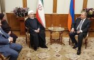 رؤسای جمهوری اسلامی ایران و ارمنستان
