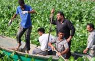 لایروبی رودخانه های لنگرود با وجود سنبل آبی با مشکل مواجه می شود