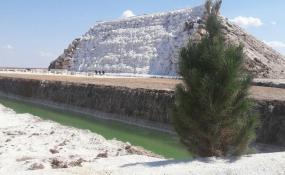 آبشار نمکی پتاس؛ اولین آبشار نمکی جهان