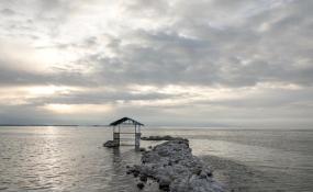 تراز فعلی دریاچه ارومیه بیش از ۲ متر با تراز اکولوژیک فاصله دارد