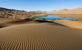 پیدا کردن آب در بیابان و کویر