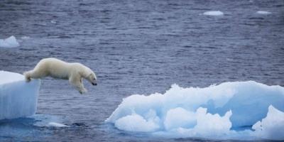 گرم شدن هوای زمین تغییر ناگهانی و چشمگیری در قطب شمال ایجاد کرده است
