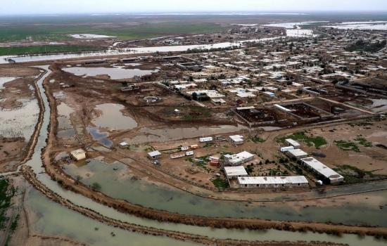 راه مقابله با سیلاب احتمالی خوزستان