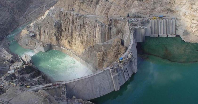 آب ذخیره شده در پشت سدهای کشور